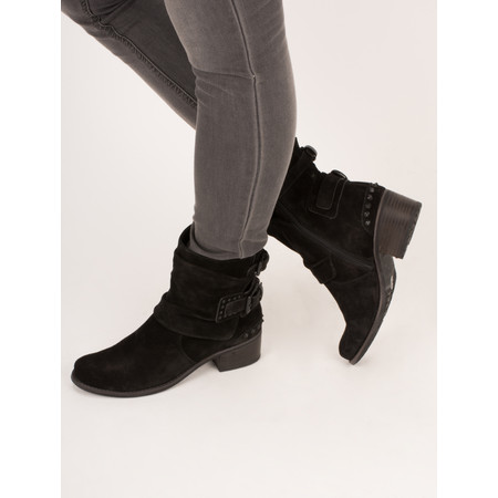 Kennel Und Schmenger Ambra Buckle Ankle Boot - Black