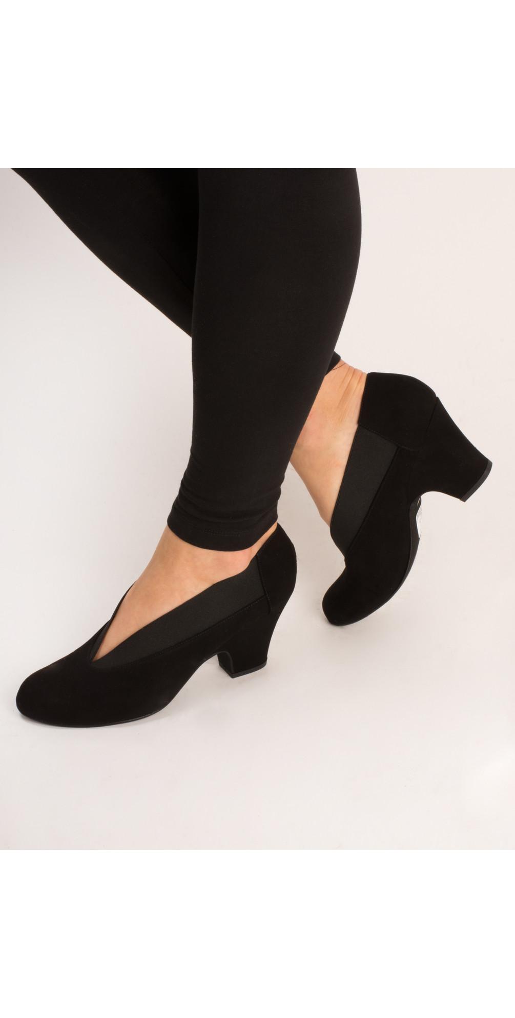 Brumabe Black Suede Shoe main image
