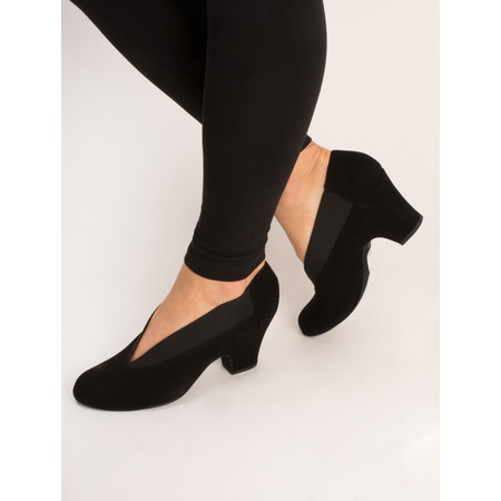 Gemini Label  Brumabe Suede Shoe - Black