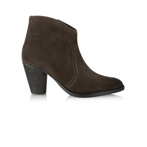 Vanilla Moon Shoes Cala Gaucho Suede Ankle Boot