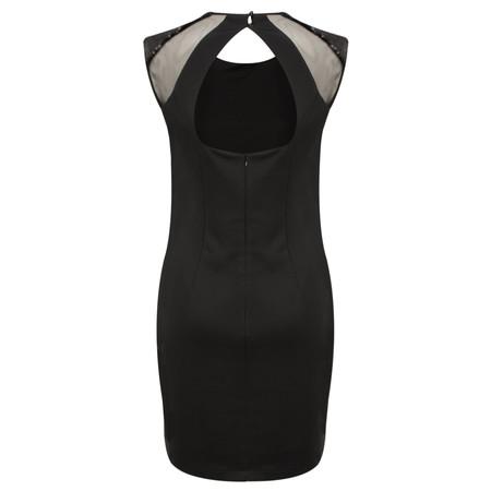 Lauren Vidal Romy Sequin Dress - Black
