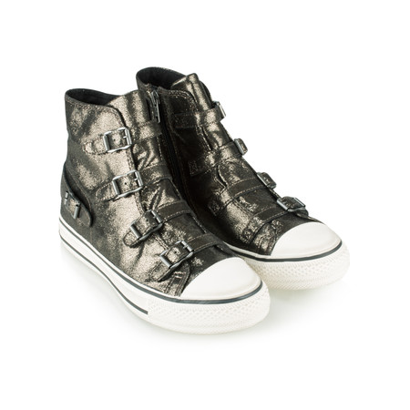 Ash Virgin Shine Buckle Trainer Shoe - Grey