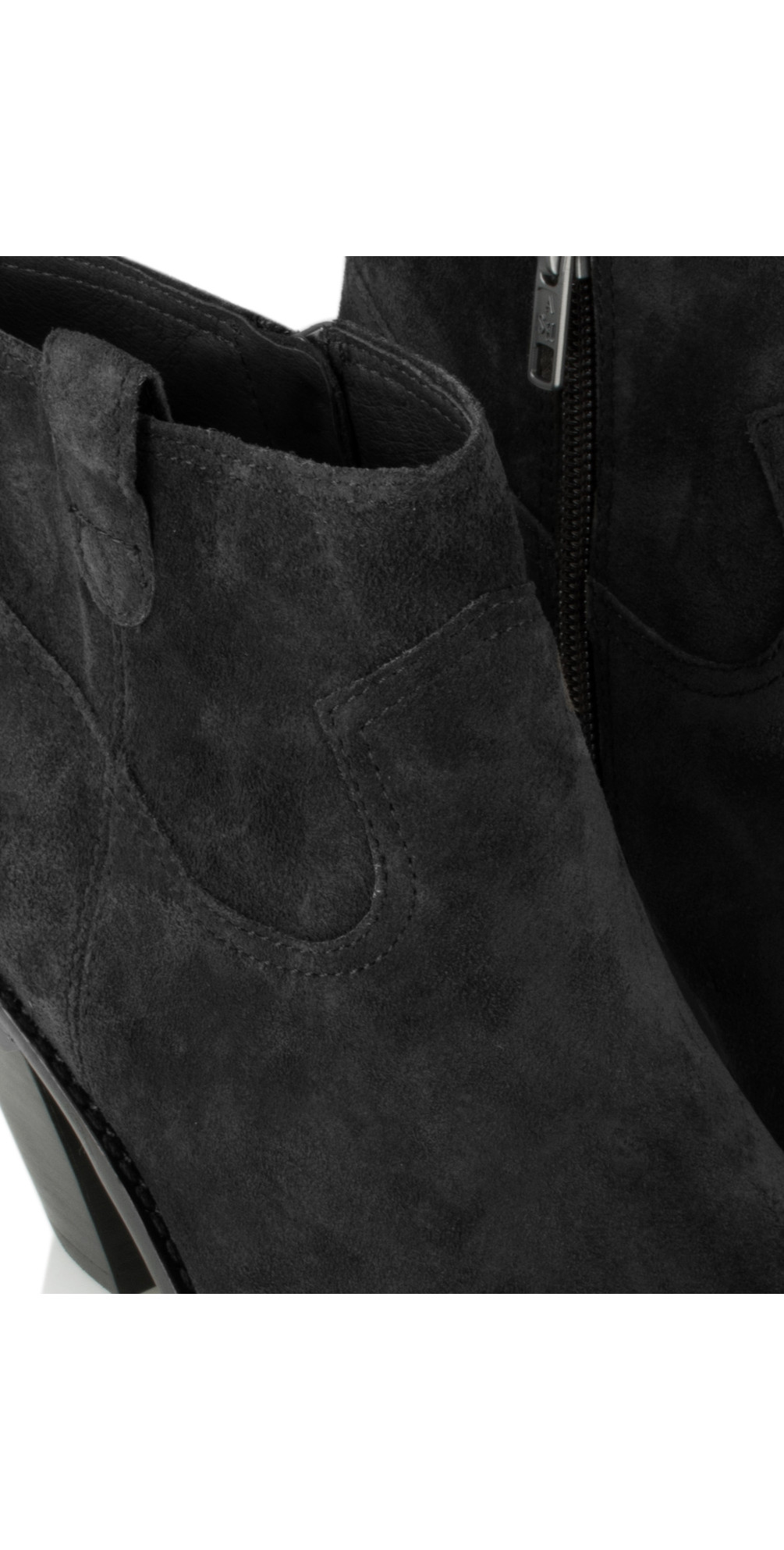 299bd8d42d6 Ash Ivana Ankle Boot in Black