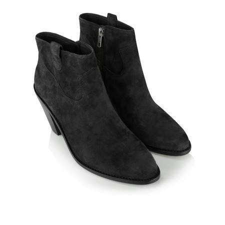 Ash Ivana Ankle Boot - Black