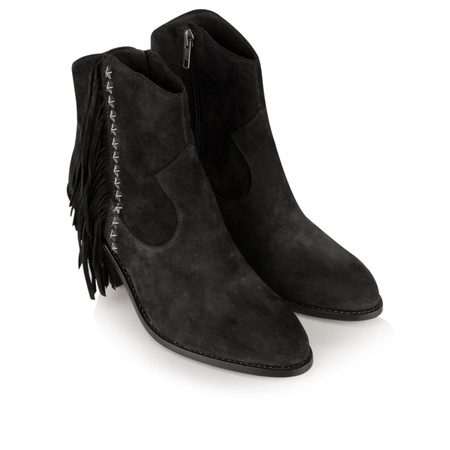 Ash Indy Ankle Boot - Black