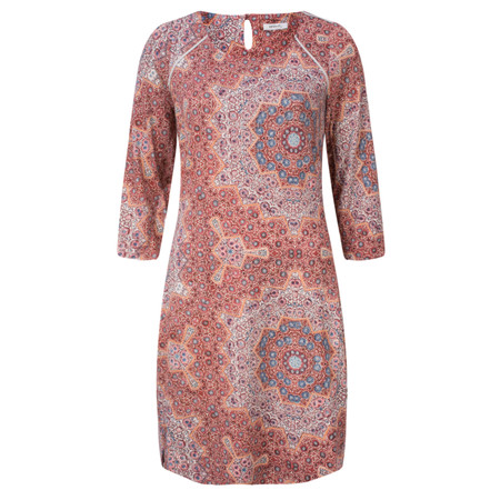 Sandwich Clothing Mosaic Printed Jersey Dress - Red
