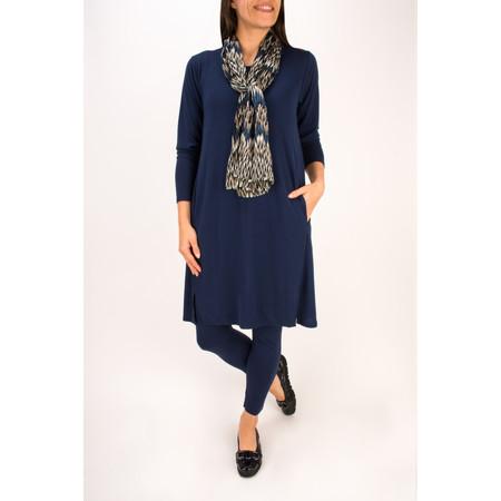 Masai Clothing Guella Tunic Dress - Blue