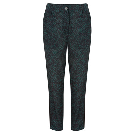 Great Plains Helsinki Contrast Trim Trouser - Green
