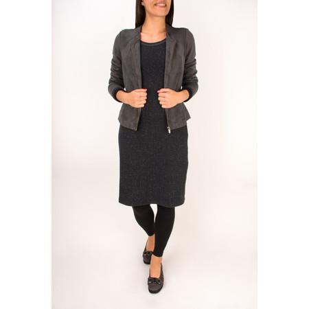 Sandwich Clothing Faux Suede Jacket - Grey
