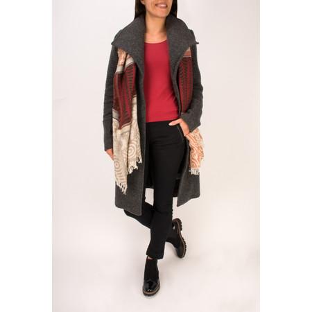 Sandwich Clothing Longline Wool Coat - Grey