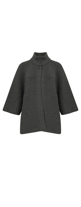 Amazing Woman Bailee Cardigan Jacket Charcoal