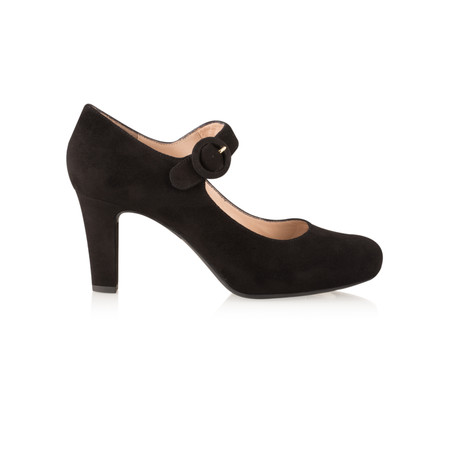 Unisa Shoes Nichi Strap Shoe - Black