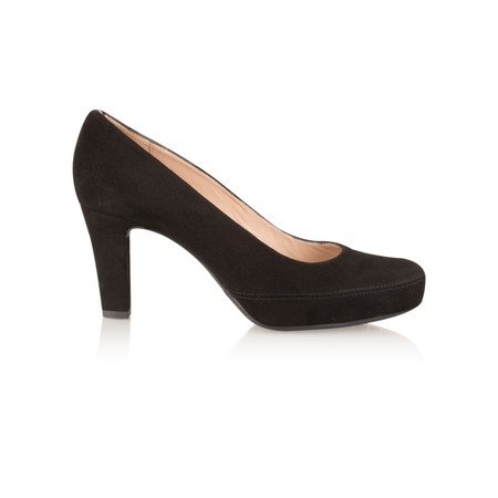 Unisa Shoes Numar Court Shoe - Black