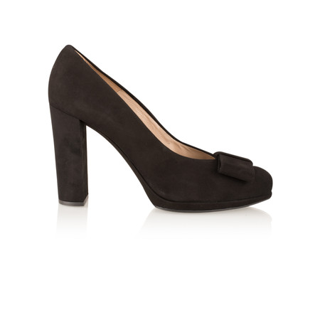 Unisa Shoes Piscis Bow Shoe - Black
