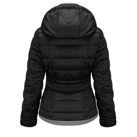 RINO AND PELLE Quilted Malhia Jacket - Black
