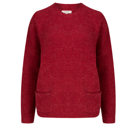 Sandwich Clothing Alpaca Knit Pullover - Red