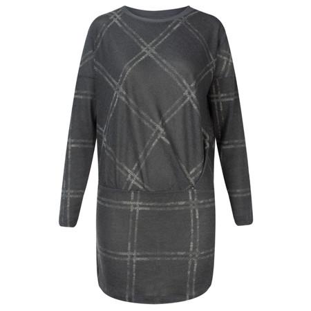 Sandwich Clothing Printed Jersey Tunic - Grey