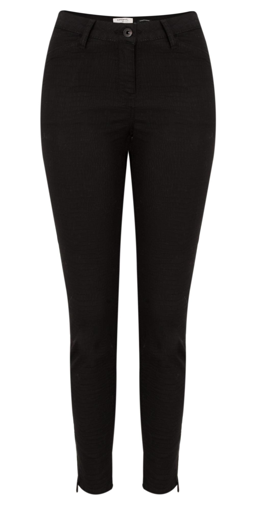Jacquard Pattern Stretch Trouser  main image
