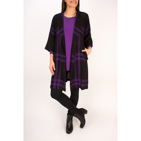 Masai Clothing Busma Tunic Top - Purple