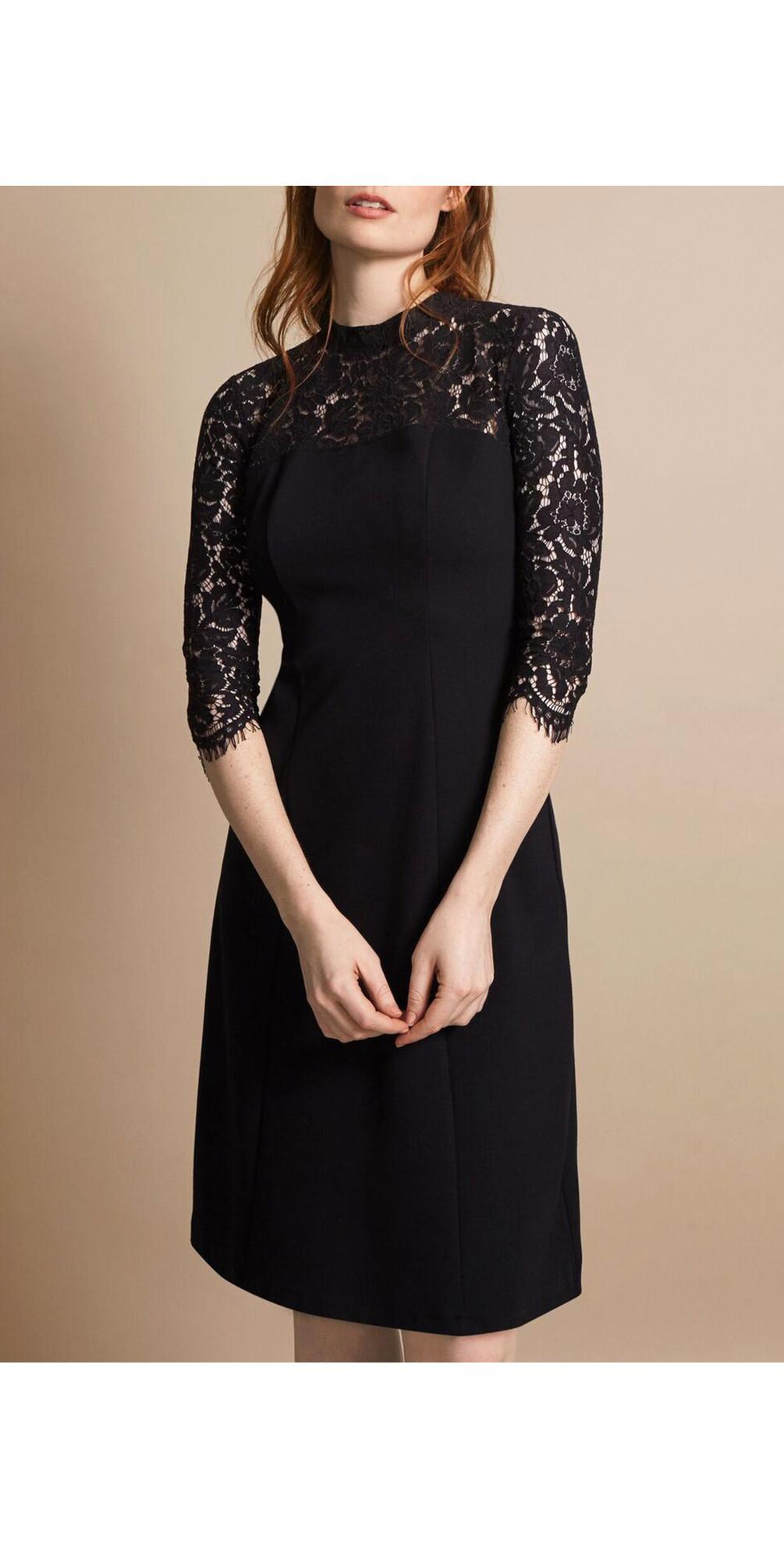Georgia Lace Keyhole Dress main image