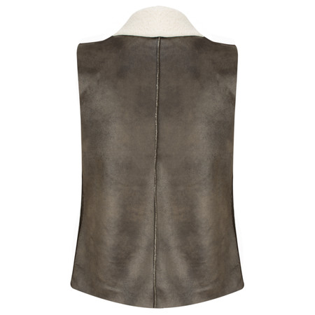 French Connection Winter Rhoda Gilet - Brown
