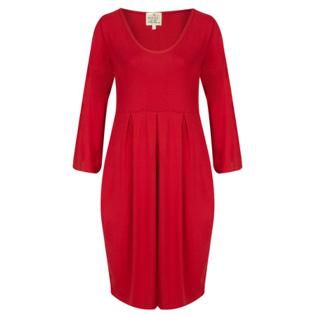 Masai Clothing Gynna Tunic Dress - Red