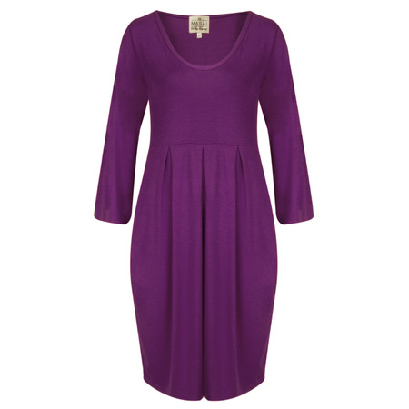 Masai Clothing Gynna Tunic Dress - Purple