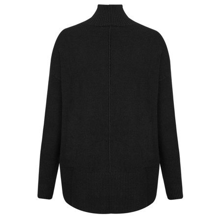 Amazing Woman Aarush Relaxed Supersoft Jumper - Black