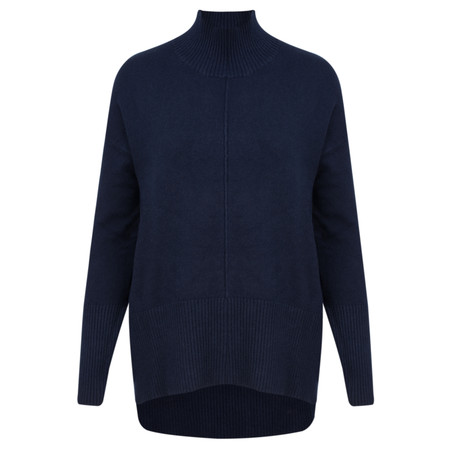 Amazing Woman Aarush Relaxed Supersoft Jumper - Blue