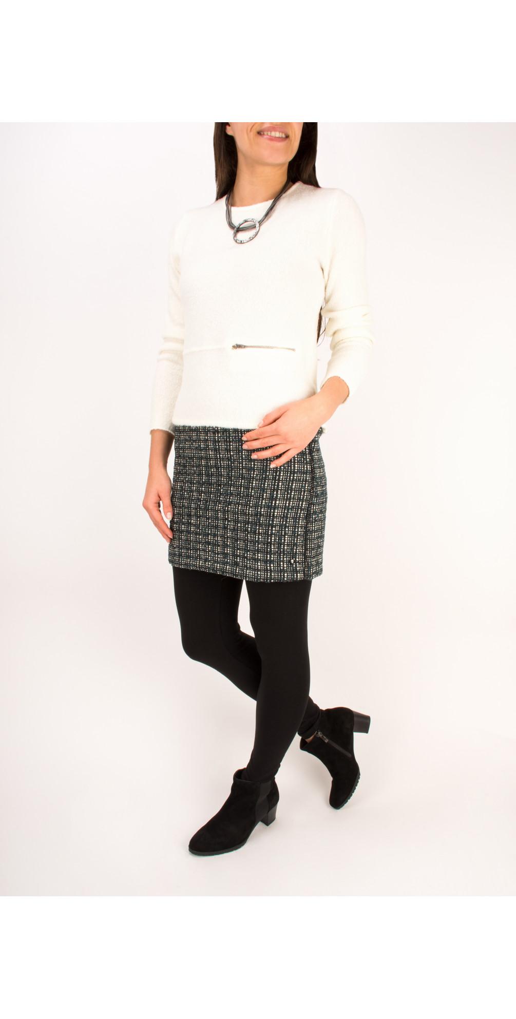 Velvet Boucle Pullover main image
