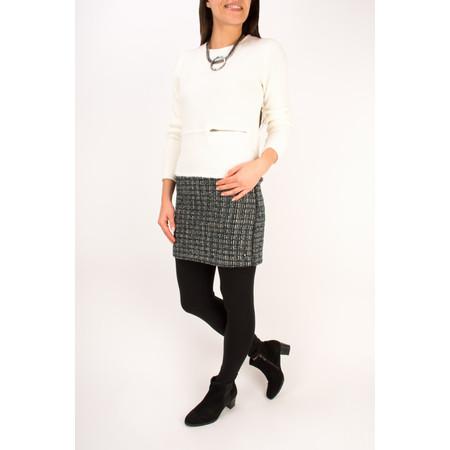 Sandwich Clothing Velvet Boucle Pullover - White