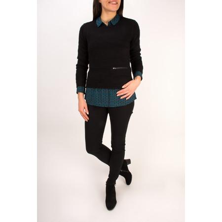 Sandwich Clothing Velvet Boucle Pullover - Black