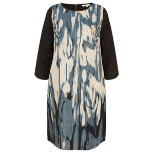 Sandwich Clothing Stained Ikat Print Dress
