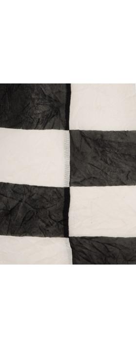 Sandwich Clothing Stripe Fine Netting Top Washed Chalk
