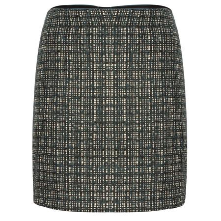 Sandwich Clothing Heavy Tweed Skirt - Blue