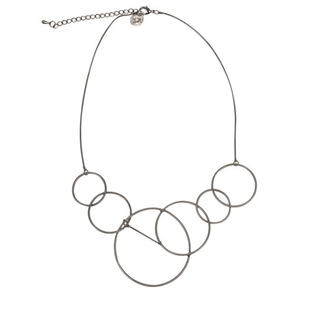 Dansk Smykkekunst Riley Short Necklace - Hematite