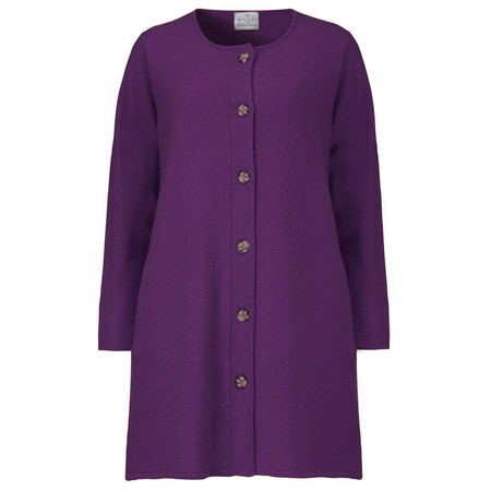 Masai Clothing Leena Cardigan - Purple