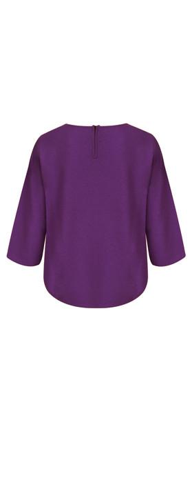 8b169f197d5 Masai Clothing Freddie Knit Top 751-Dahlia. undefined