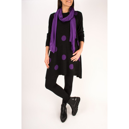 Masai Clothing Fritzi Knitted Tunic Dress - Purple