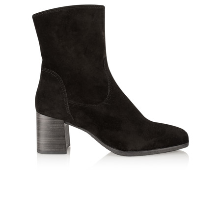 Tamaris  Block Heel Ankle Boot - Black