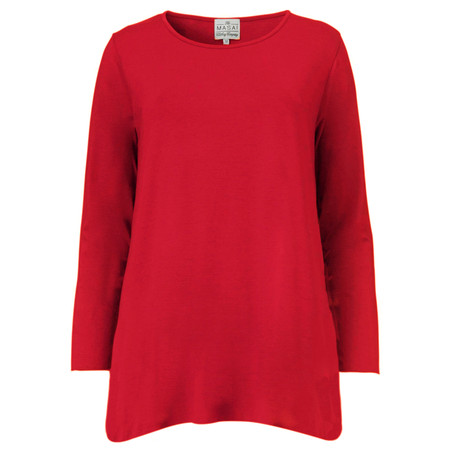 Masai Clothing Busma Tunic Top - Red