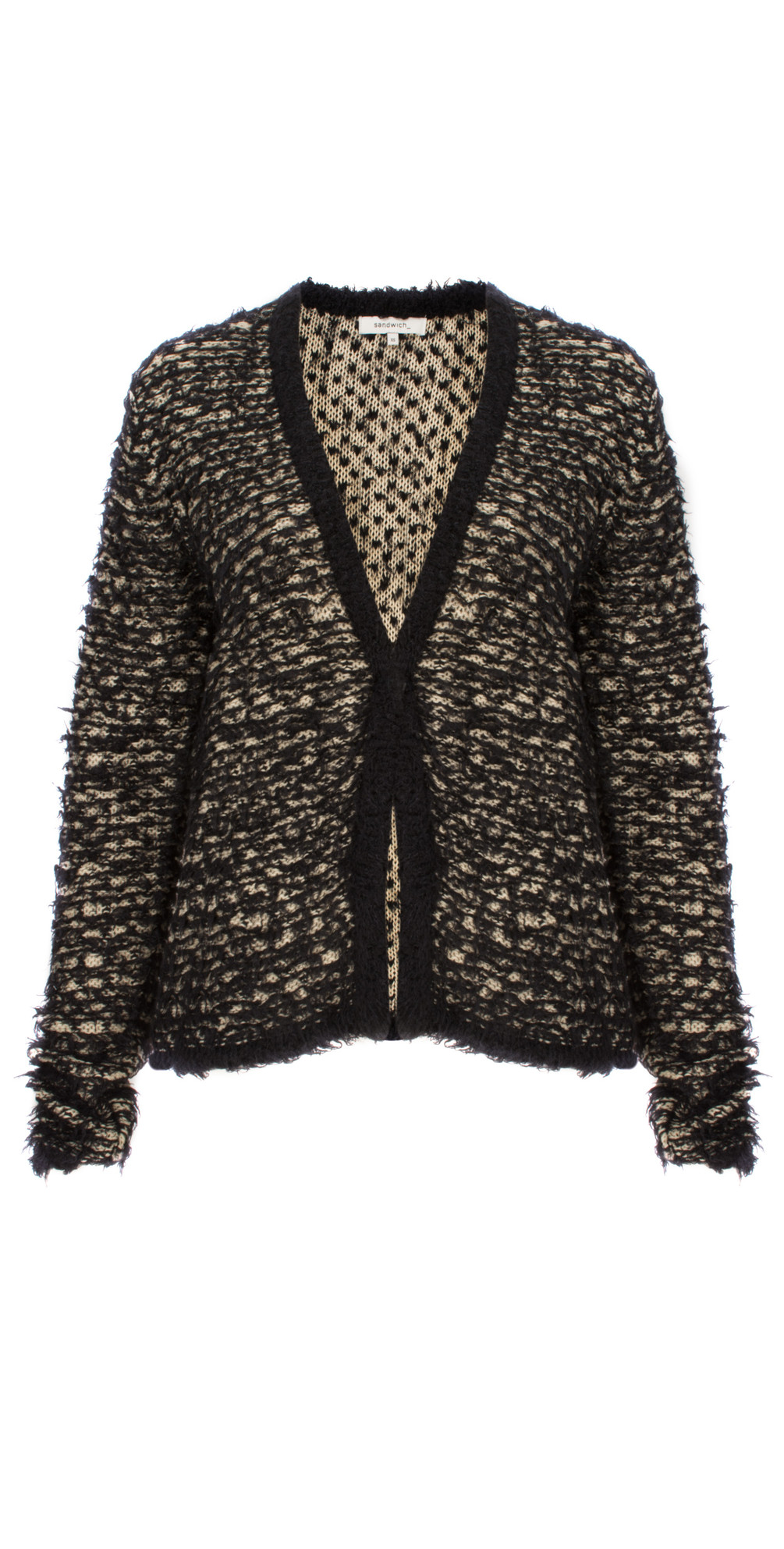 Furry Knitted Cardigan main image