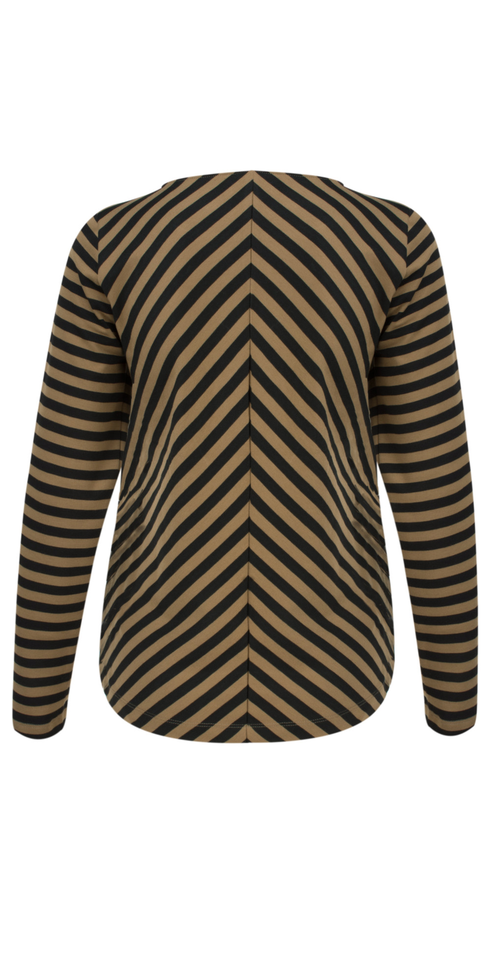 Long Sleeve Striped Top main image