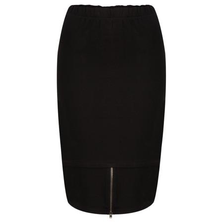 Masai Clothing Jersey Ribbed Sysser Skirt - Black