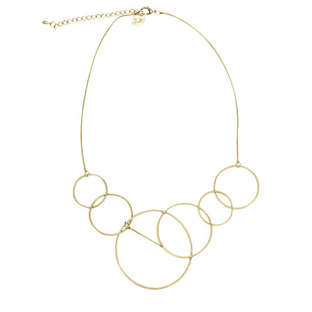 Dansk Smykkekunst Riley Short Necklace - Gold