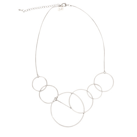 Dansk Smykkekunst Riley Short Necklace - Metallic