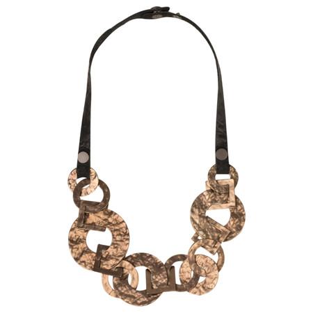 Dansk Smykkekunst Rie Necklace - Metallic