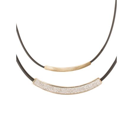 Dansk Smykkekunst Rosemarie Short Necklace - Gold