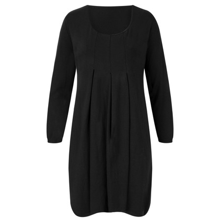 Arka Megan EasyFit Tunic Dress - Black