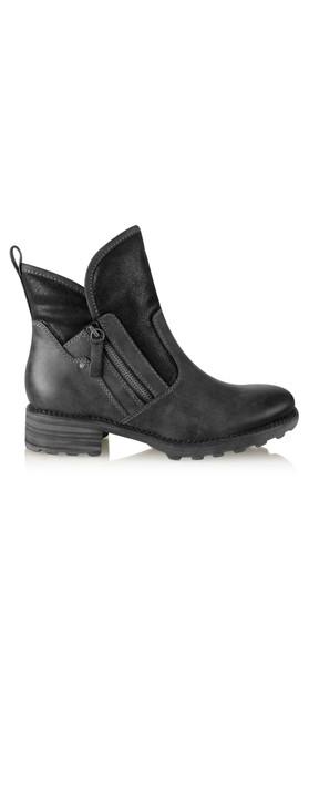 Tamaris  Urban Chunky Imit Boot Black